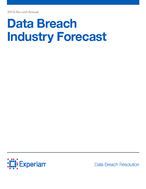 2015 Data Breach Industry Forecast