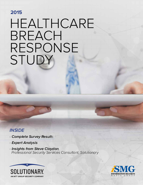 2015 Healthcare Breach Response Study Results