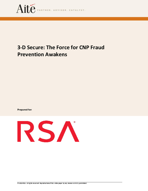 3-D Secure: The Force for CNP Fraud Prevention Awakens