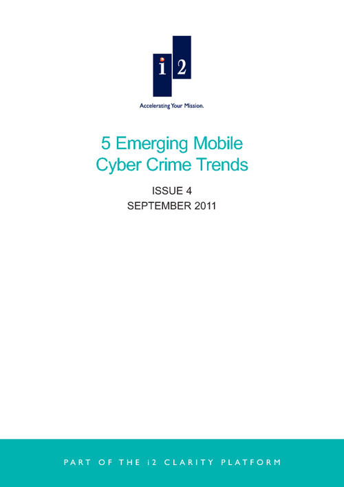 5 Emerging Mobile Cyber Crime Trends