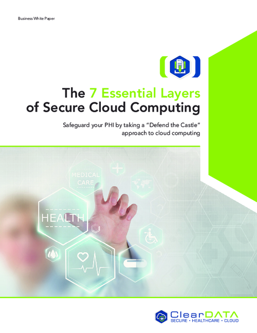 The 7 Essential Layers of Secure Cloud Computing