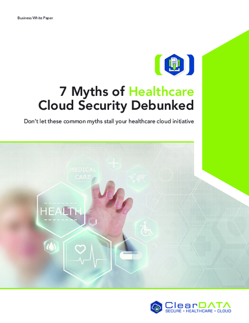 7 Myths of Cloud Security Debunked