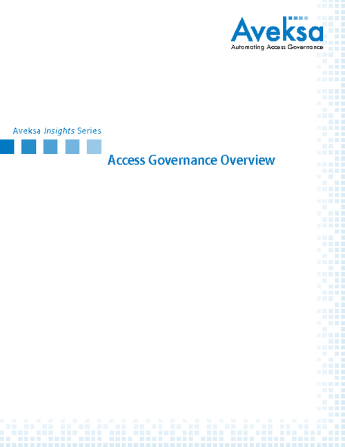 Access Governance: Challenges and Solutions