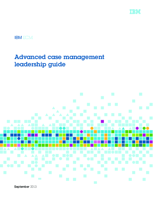 Advanced case management leadership guide