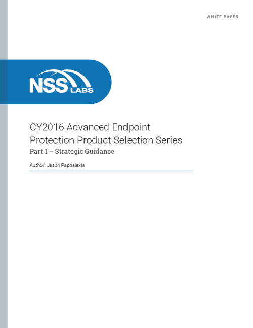 Advanced Endpoint Protection: Strategic Guidance When Replacing Antivirus
