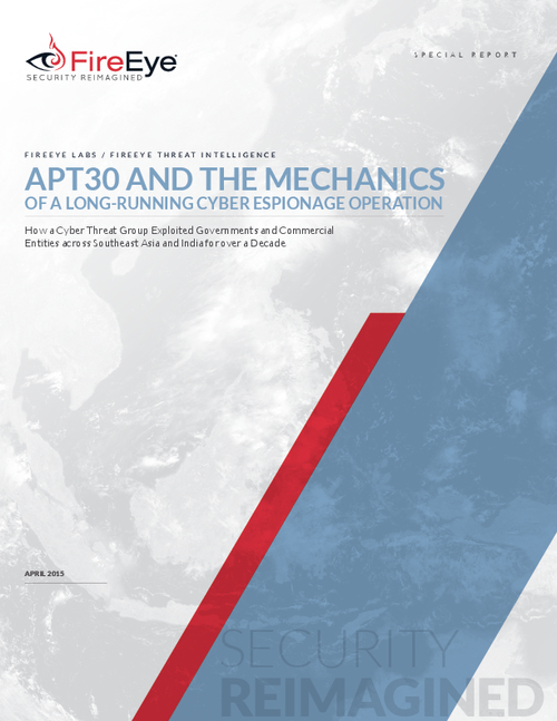 APT30: The Mechanics Behind a Decade Long Cyber Espionage Operation