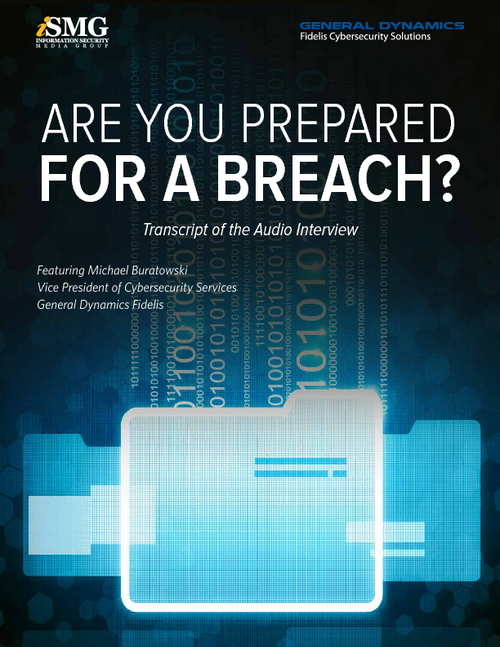 Are You Prepared for a Breach?