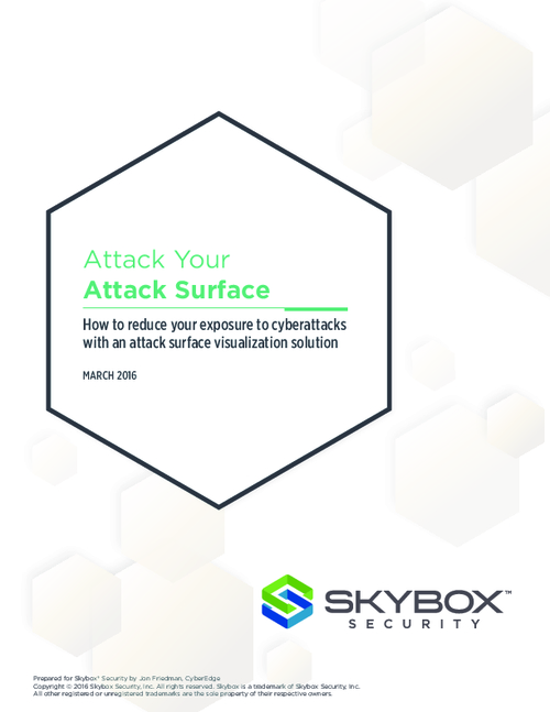 Attack Your Attack Surface: Reduce Cyberattacks with Attack Surface Visualization