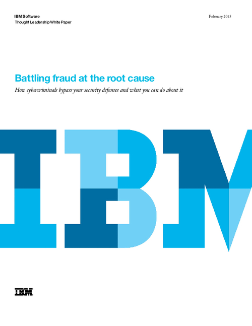 Battling Fraud at the Root Cause
