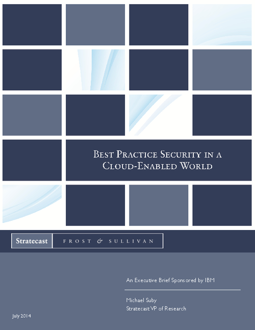 Best Practice Security in a Cloud-Enabled World