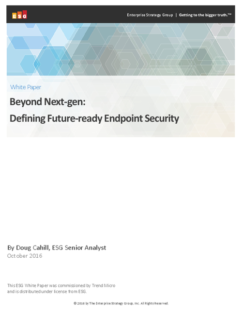 Beyond Next-gen: Defining Future-ready Endpoint Security