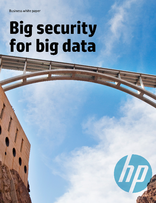 Big Security for Big Data