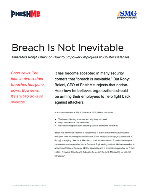 Breach is Not Inevitable: How to Empower Employees to Bolster Defenses