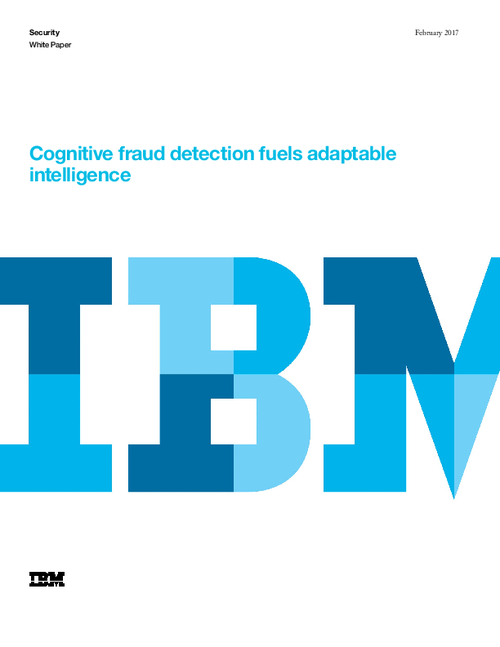 Cognitive Fraud Detection Fuels Adaptable Intelligence