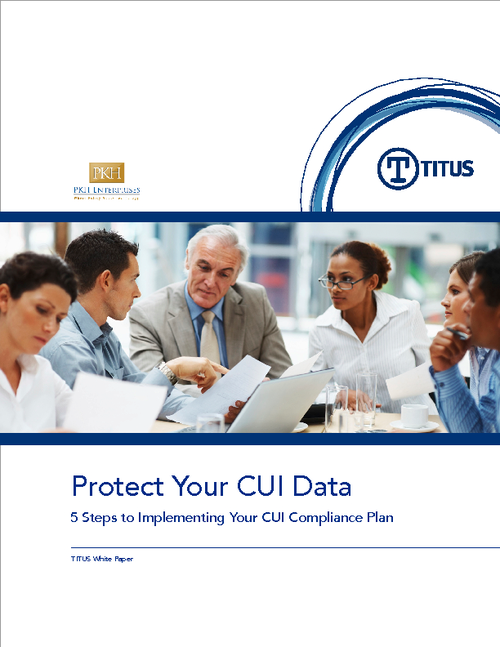 Controlled Unclassified Information: 5 Steps to a Successful CUI Compliance Plan