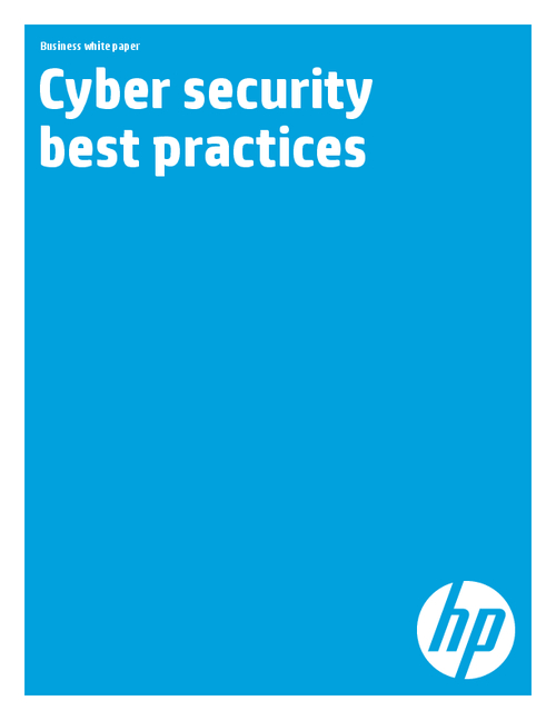 Cyber Security Best Practices (CISO White Paper)