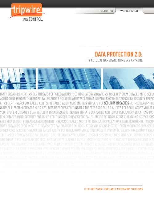 Data Protection 2.0
