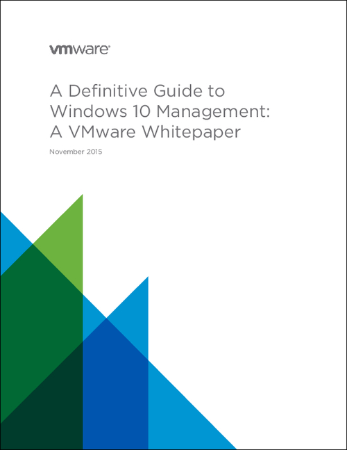 A Definitive Guide to  Windows 10 Management