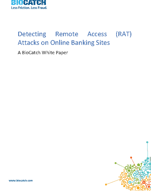 Detecting Remote Access Attacks on Online Banking Sites