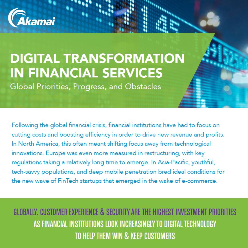 Financial Services: Digital Transformation In Financial Services Global