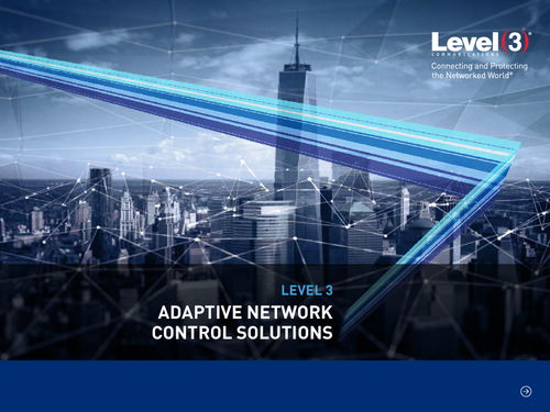 eBook: Adaptive Network Control Solutions