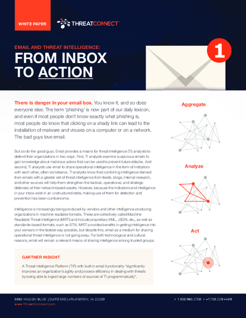 Email and Threat Intelligence: From Inbox To Action