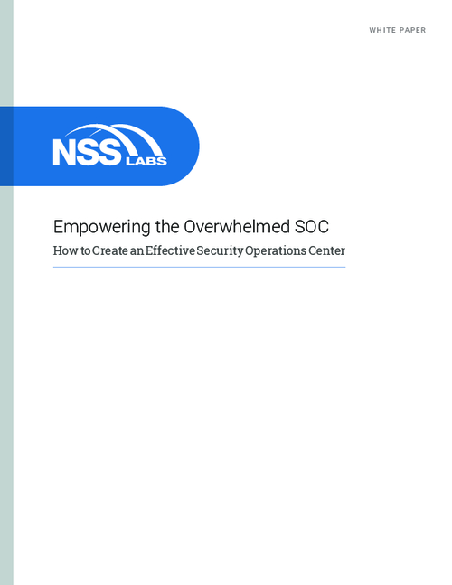 Empowering the Overwhelmed SOC: Creating an Effective Security Operations Center