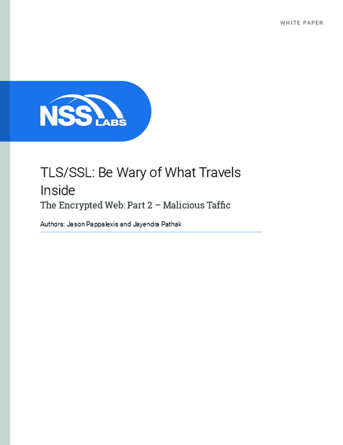 The Encrypted Web: Be Wary of What Travels Inside TSL/SSL