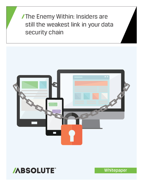 The Enemy Within: Insiders Are Still The Weakest Link in Your Data Security Chain