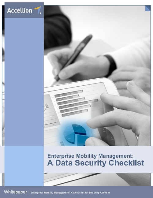 Enterprise Mobility Management: A Data Security Checklist