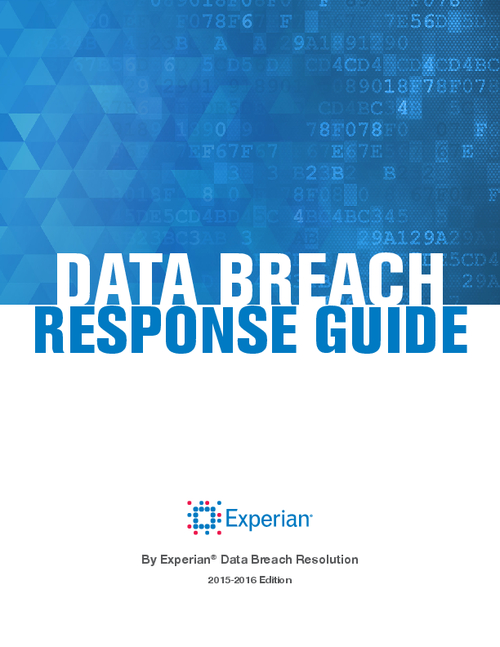 guide to developing a data breach response plan