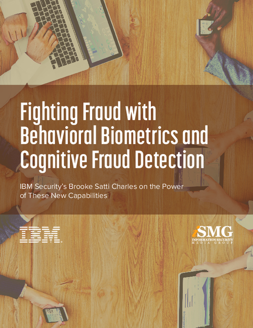 Fighting Fraud with Behavioral Biometrics and Cognitive Fraud Detection