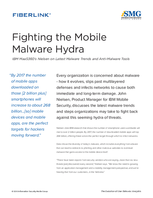 Fighting the Mobile Malware Hydra