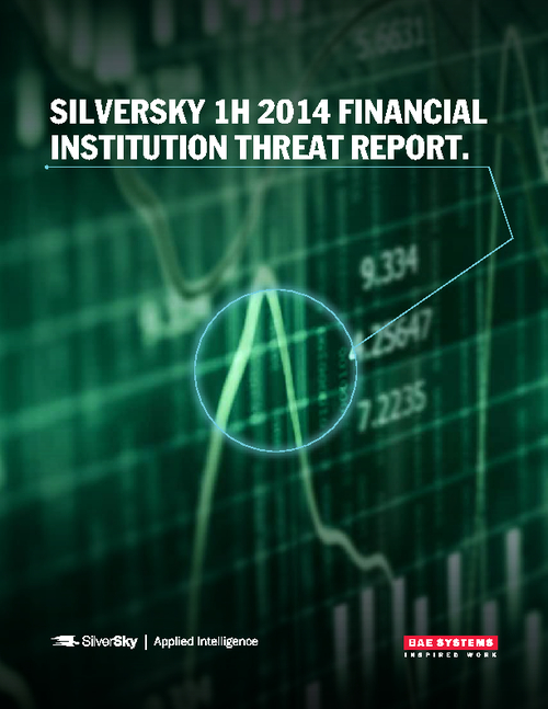 Financial Institution Threat Report