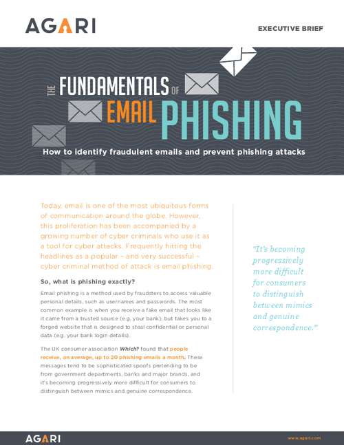 The Fundamentals of Phishing Guide