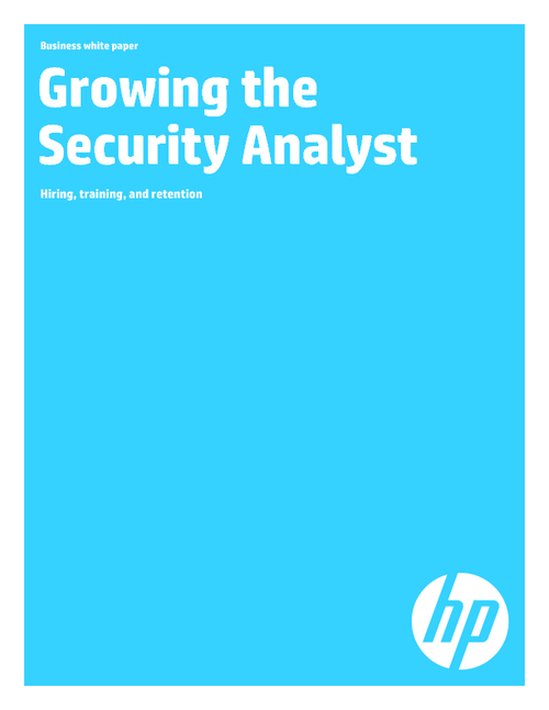 Growing the Security Analyst