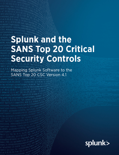Have you Adopted the SANS Top 20 Critical Security Controls?