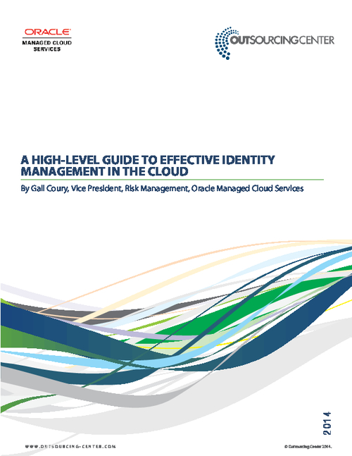 A High-Level Guide to Effective Identity Management in the Cloud