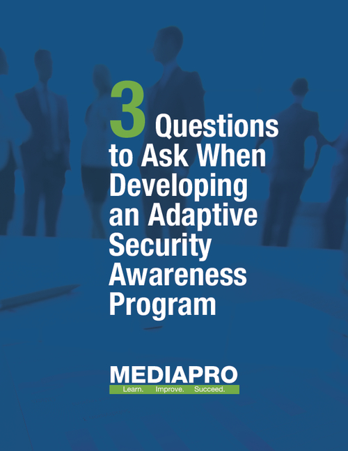 How to Develop an Adaptive Security Awareness Program