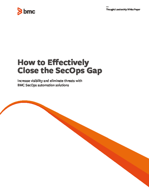 How to Effectively Close the SecOps Gap