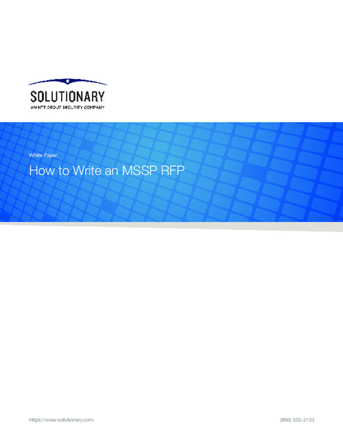 How To Choose An MSSP And Create A RFP/RFI