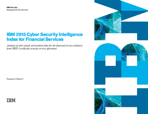 IBM Cyber Security Intelligence Index for Financial Services