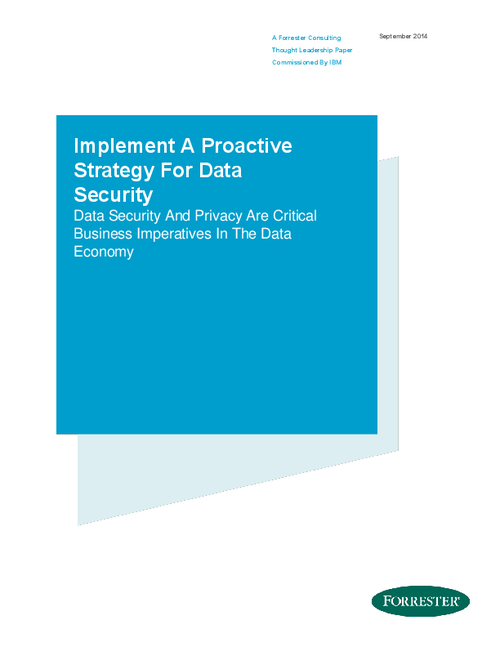 Implement A Proactive Strategy For Data Security