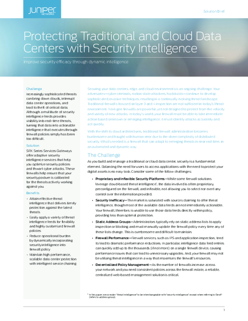 Improve Security Efficacy through Dynamic Intelligence