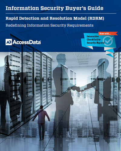 Information Security Buyer's Guide:  Rapid Detection and Resolution Model