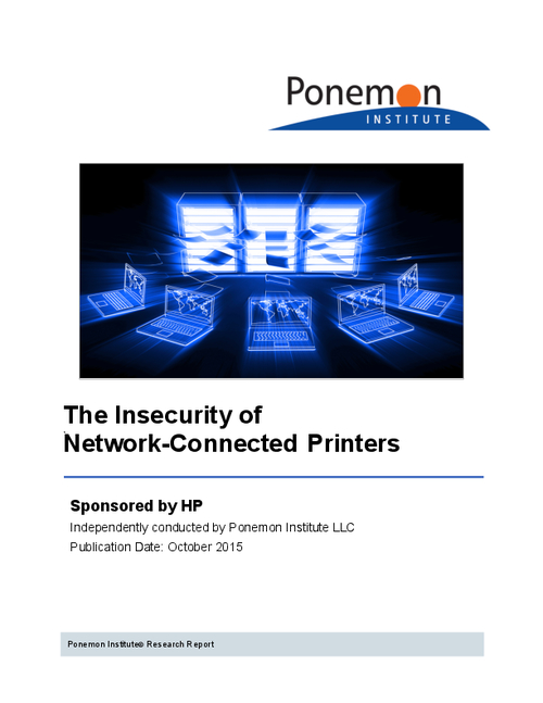 The Insecurity of Network-Connected Printers