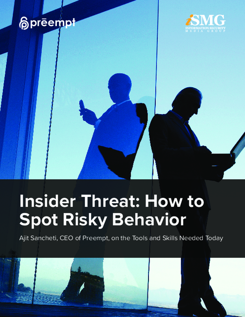 Insider Threat: How to Spot Risky Behavior