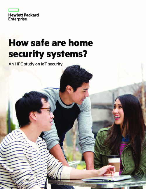 Internet of Things Security Study: Home Security Systems Report