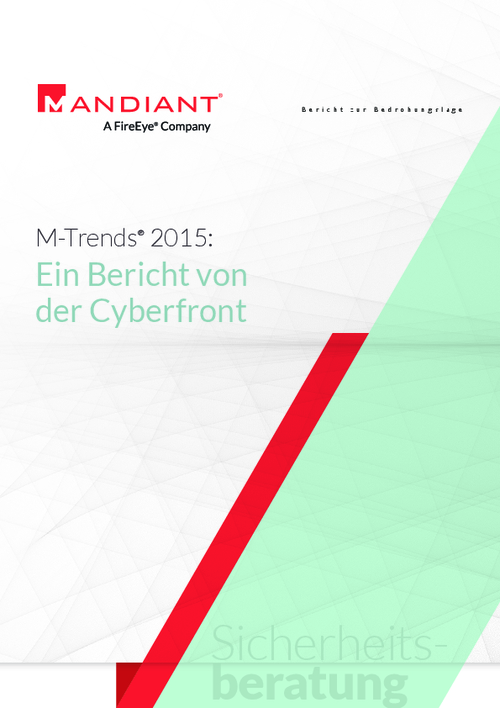 M-Trends 2015: A View From the Front Lines (German Language)