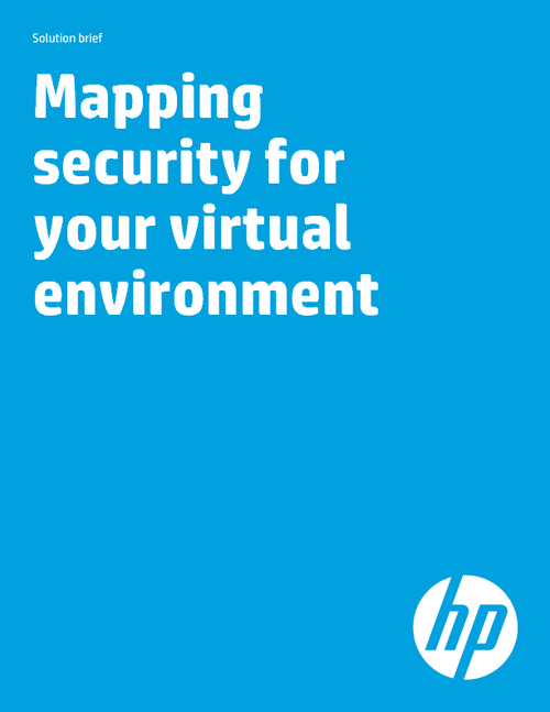 Mapping Security for your Virtual Environment